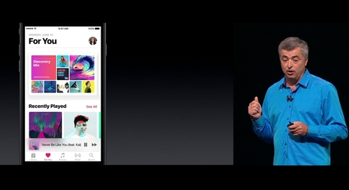 Apple Music redesign